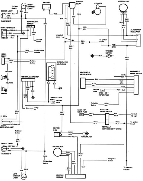 1994 ford ranger ignition switch wiring diagram ranger