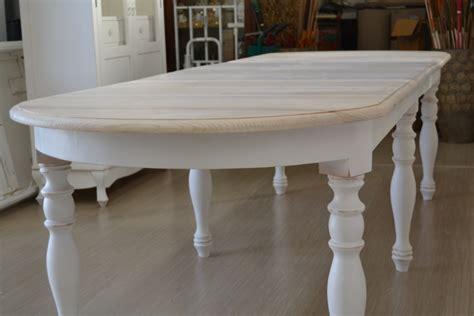 tavolo allungabile ovale tavolo ovale bianco shabby chic allungabile mobili etnici