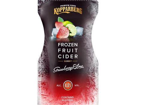 kopparberg claims worlds  frozen cider
