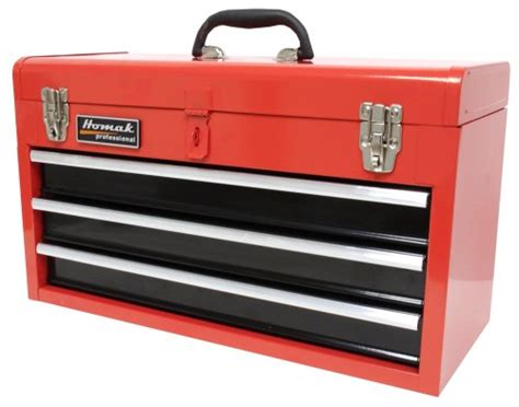 amazon tool storage cabinets homak rd01032101 3 tool box chest red new free