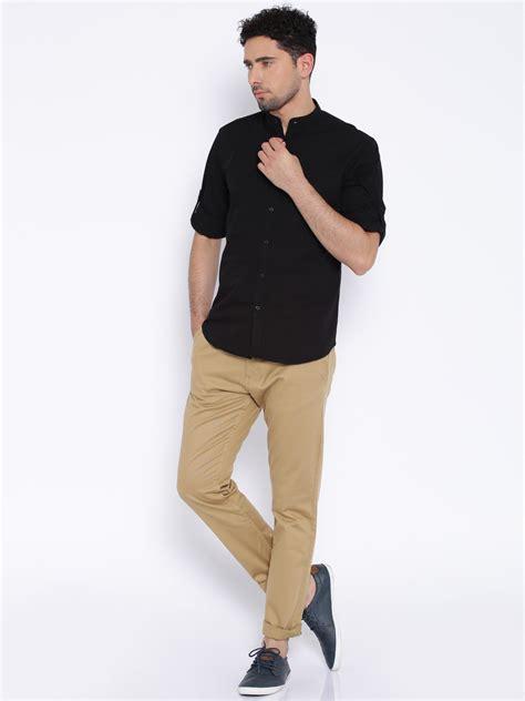 Black Fashion Shirt khakis black shirt custom shirt