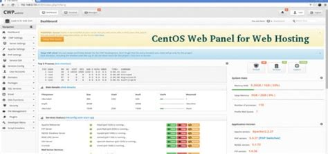 membuat web hosting di centos 20 open source commercial control panels to manage linux