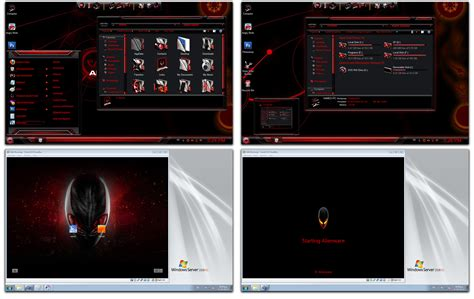 alienware themes for windows 7 green free windows 7 themes alienware