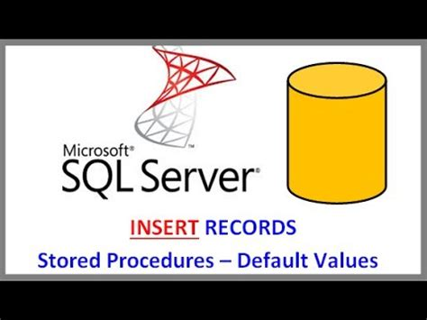 insert into temp from stored procedure sql server insert records into via stored