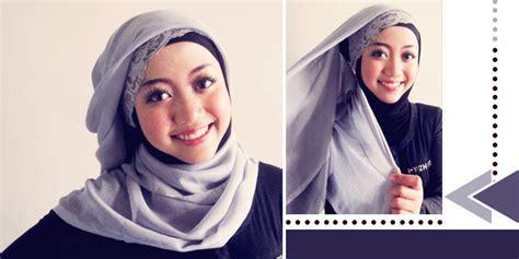 Tutorial Berhijab Dengan Jilbab Segiempat | tutorial til modis dan simpel dengan jilbab segiempat