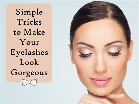 Simple Trick To Make Your - simple tricks to make your eyelashes look gorgeous