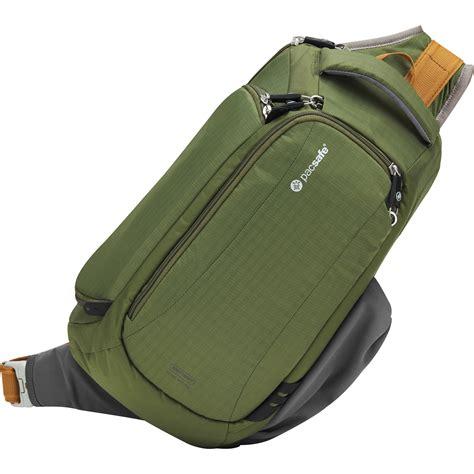 Slingbag Olive Mini pacsafe camsafe v9 anti theft sling bag 15170505 b h