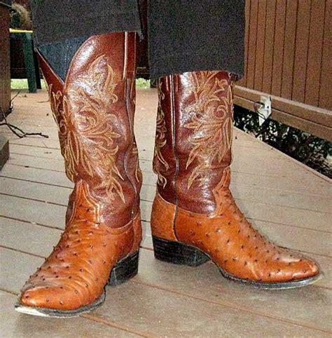 Largato Ostrich Boots