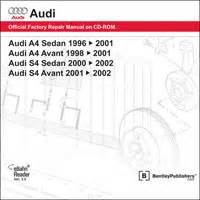 vehicle repair manual 1996 audi a4 electronic valve 1996 2002 audi a4 s4 official factory repair manual on
