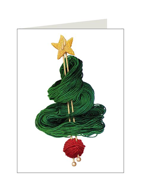 christmas cards knit for peace