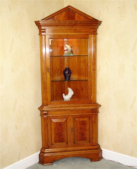cherry wood corner cabinet 17 best images about charles barr display cabinets on