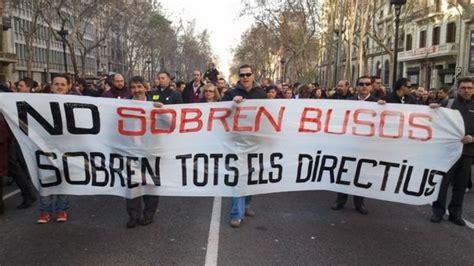 sueldo trabajadores metro barcelona tabla metro y bus de barcelona har 225 n huelga el 27 de febrero