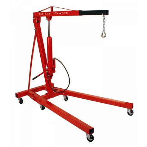 Engine Crane 2 Ton Limited 2 ton folding air hydraulic cherry picker shop engine crane hoist