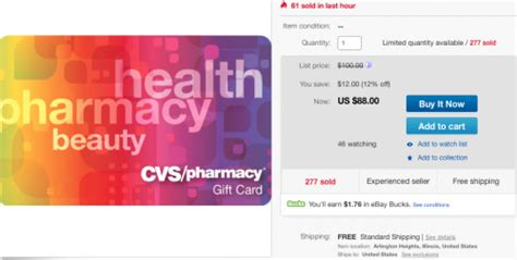Cvs Gift Card Discount - discounted cvs gift cards today points miles martinis