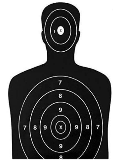 Sasaran Tembak Shooting Target Paper Circle customized b 29 printing paper target for shooting buy
