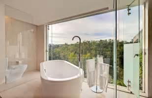 stunning modern bathroom designs home design modern bathroom with glass wall beautiful interior design of casa loma