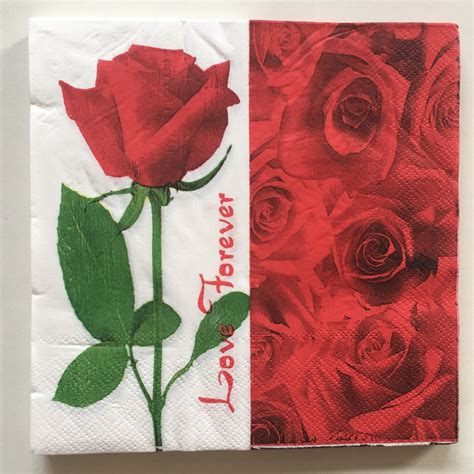 Paper Napkin Tissue Decoupage Pn159 vintage decoupage paper napkins flower tissue
