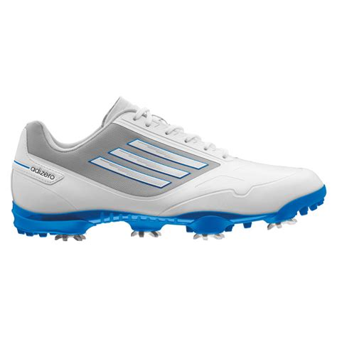 adidas adizero one golf shoes mens carbon bahia blue at intheholegolf