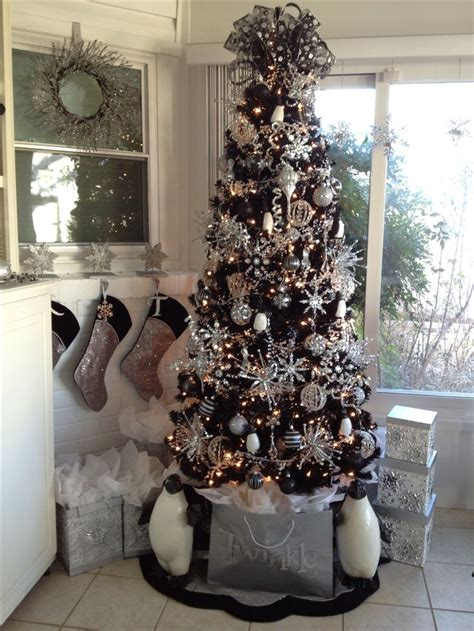 best 25 black christmas trees ideas on pinterest black christmas black xmas tree and black