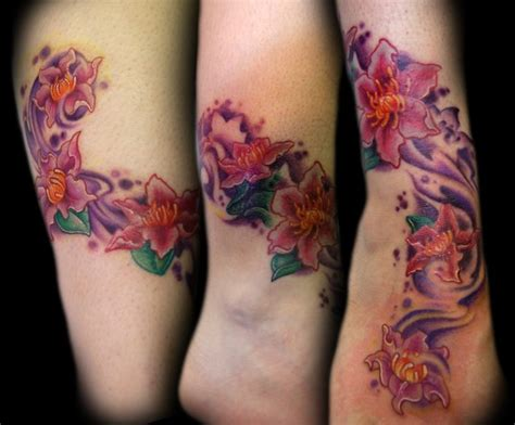 clematis tattoo designs clematis flowers by doty tattoonow