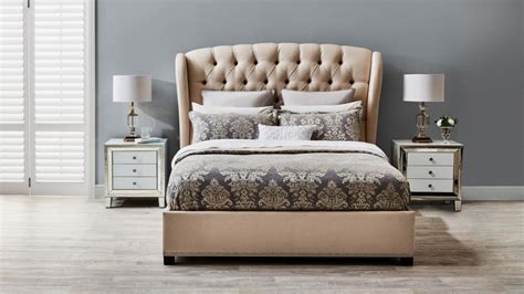 Bed Frames Manchester Beatrice King Bed Beds Suites Bedroom Beds Manchester Harvey Norman Australia