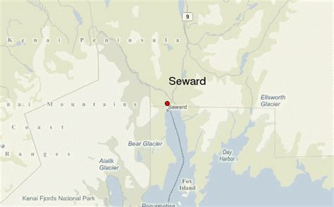 us map seward alaska seward alaska location guide