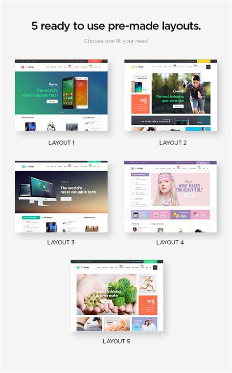 dta themes download center clickshop woocommerce wordpress theme woocommerce