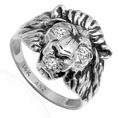 Elgin Platinum 999 5 Plated anzor jewelry heavy s ring 14k solid white gold