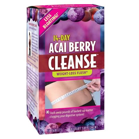 Acai Cleanse 10 Day Detox Reviews by Applied Nutrition 14 Day Cleanse Dietary Supplement