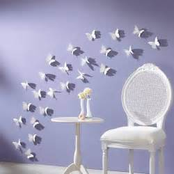 Butterfly Decorations For Home Handmade Butterflies Decorations On Walls Paper Craft Ideas