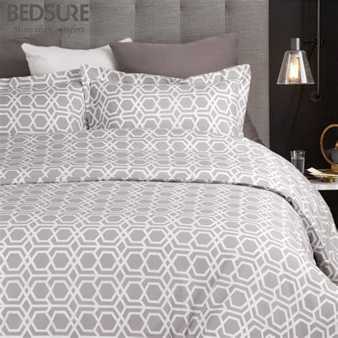 hypoallergenic comforter cover bedsure duvet cover set soft plaid hypoallergenic washed