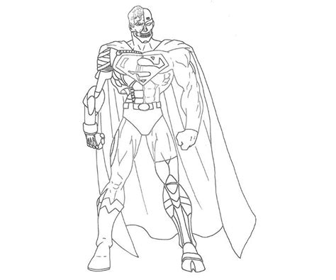 lego cyborg coloring page cyborg coloring pages coloring home
