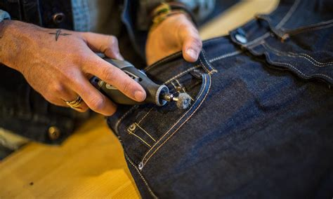 Levis Handmade - customize learn how to tailor customize