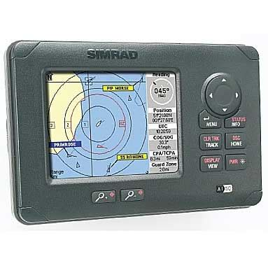 simrad ai50 class b ais transponder with display | west marine