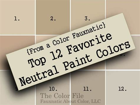 popular neutral paint colors sherwin williams from a color fauxnatic top 12 favorite neutral paint