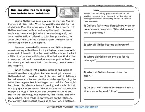 comprehension workbook year 4 1407141805 reading comprehension worksheets third grade galileo science reading