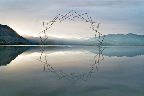 design environment nature ephemeral environmental sculptures evoke cycles of nature