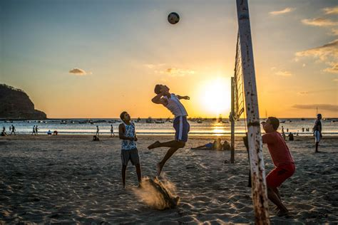 surf sunsets  san juan del sur nicaraguas popular beach town