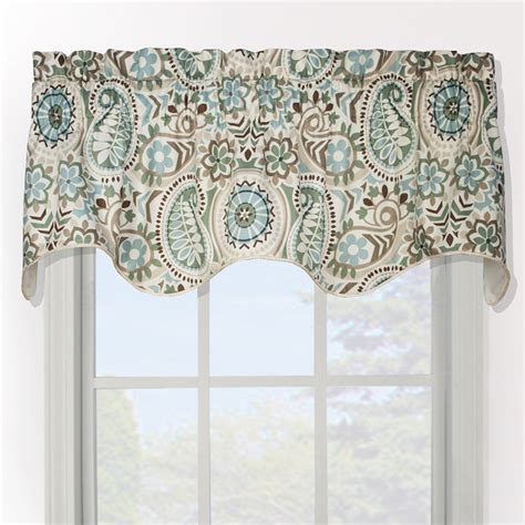 paisley valance curtains paisley prism duchess filler valance contemporary