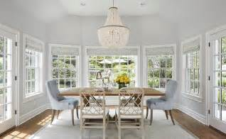 Blue And Grey Dining Room by Gray Dining Chairs Transitional Dining Room