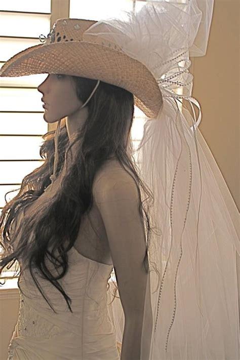 wedding cowboy hats with veils cowboy hat bridal veil bachelorette cowboy hat from las