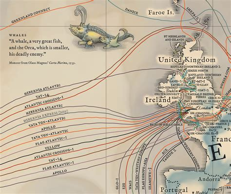 undersea cable map geogarage the undersea cable map