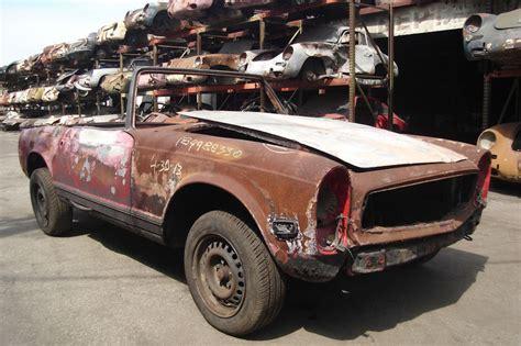1970 mercedes 280 sl junkyard find