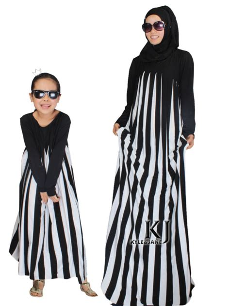 01 Abaya Maxi 2015 new family fitted modal abaya children traditional