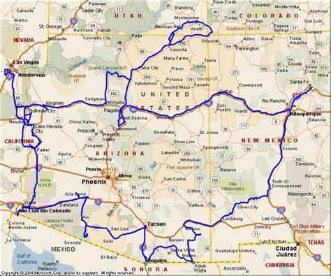 sells arizona map just an illusion arizona trip wrap up