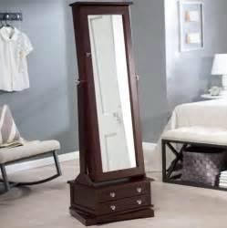 cherry cheval mirror jewelry armoire home design ideas