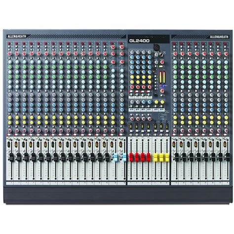 Mixer Allen Heath Gl2400 24 allen heath gl2400 24 mixing console for 163 1 779 00