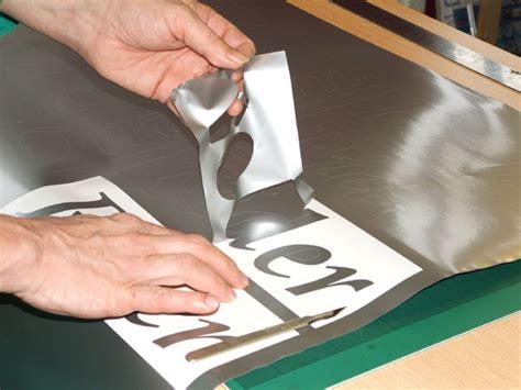 Weeding Vinyl Letters bespoke self adhesive lettering weeding