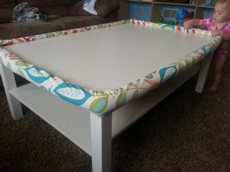 Diy Coffee Table Bumper For Under 10 1 Pool Noodles Coffee Table Bumper Pads