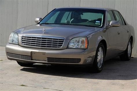how to sell used cars 2004 cadillac deville seat position control sell used 2004 cadillac deville clean title low miles below wholesale price in houston texas